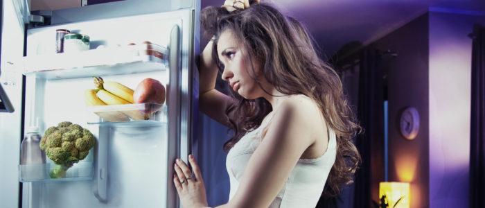 il cibo che non fa dormire - night eating syndrome