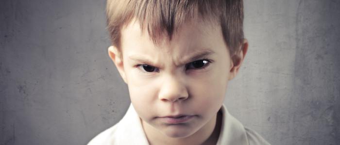 quando il bambino si arrabbia
