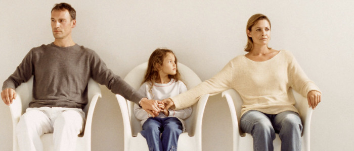 Mamma e papà si separano