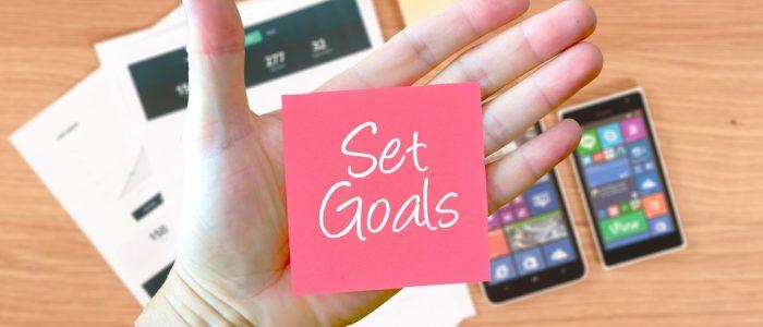 goal setting fissare obiettivi