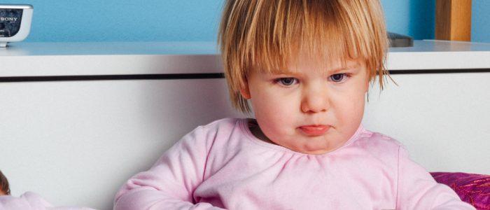 frustrazione nel bambino